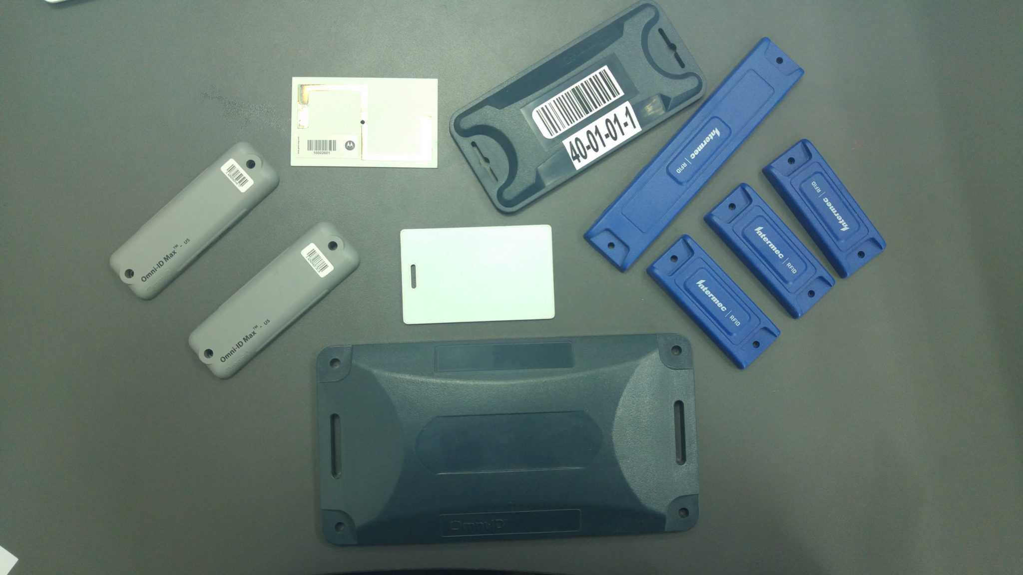 מגוון תגי RFID